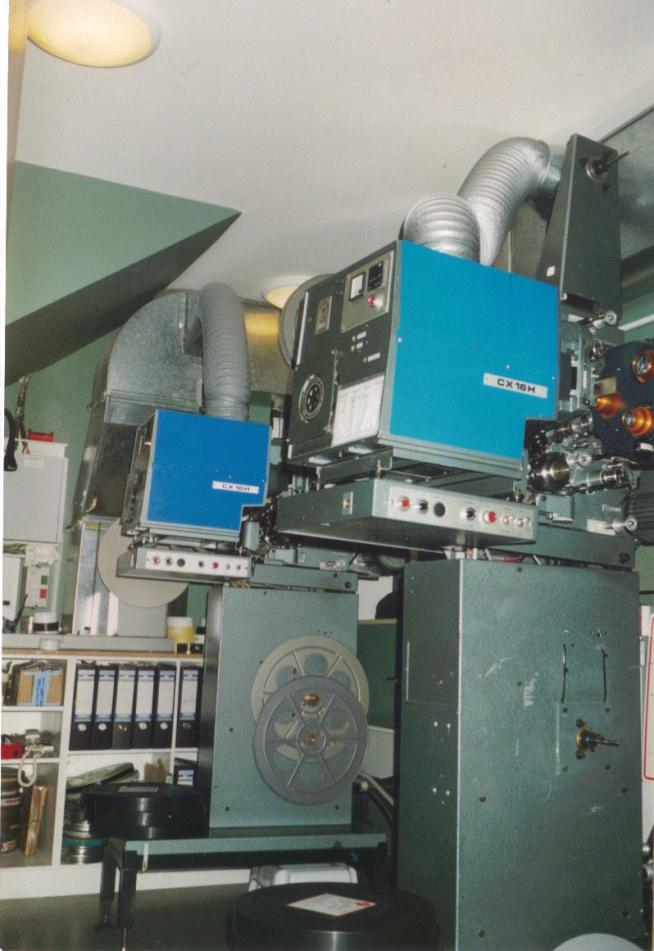 Cinemeccanica Victoria 5 35mm projectors